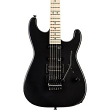 USA Select San Dimas HSS FR Maple Fingerboard Electric Guitar Level 2 Pitch Black 190839369246