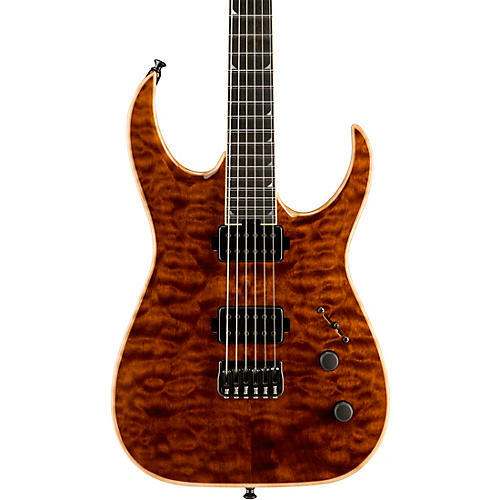 jackson usa signature model misha mansoor juggernaut ht6 electric guitar amber tiger eye. Black Bedroom Furniture Sets. Home Design Ideas