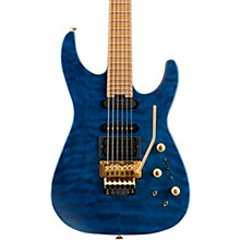USA Signature Phil Collen PC1 Satin Satin Transparent Blue