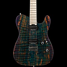 USA TE-II HT Electric Guitar Transparent Teal