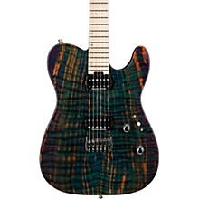 USA TE-II HT Electric Guitar Transparent Teal