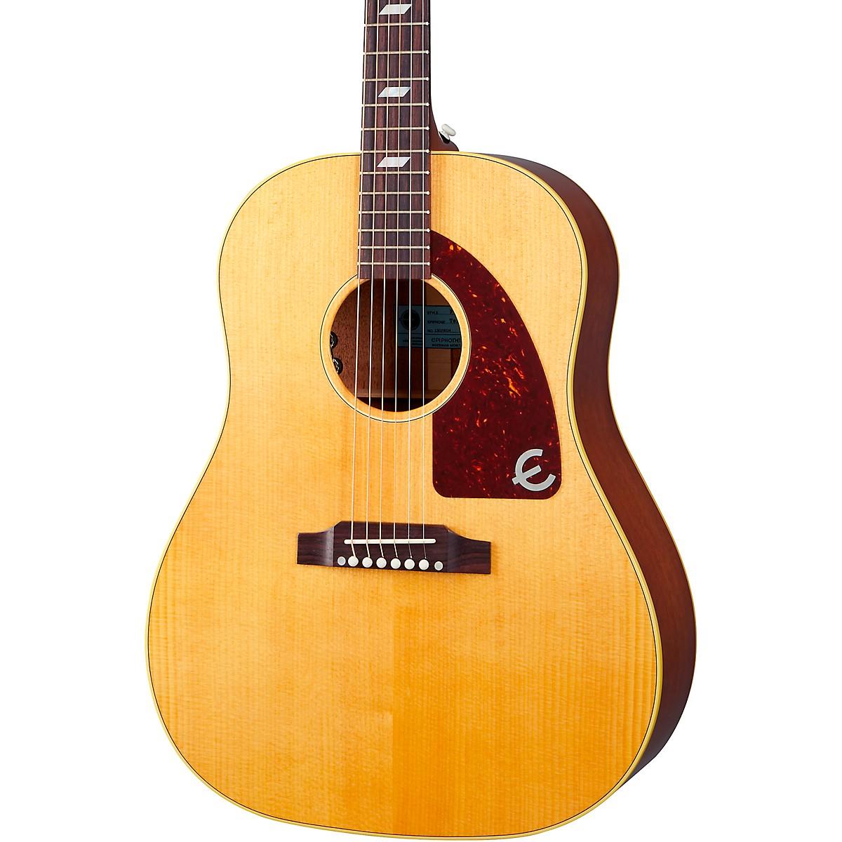 Epiphone USA Texan Hollowbody Acoustic-Electric Guitar