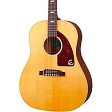 USA Texan Hollowbody Acoustic-Electric Guitar Antique Natural