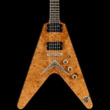 Dean USA V Burled/Spalted Maple Electric Guitar Gloss Natural