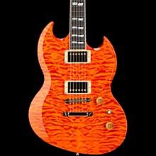 USA Viper Electric Guitar Transparent Amber