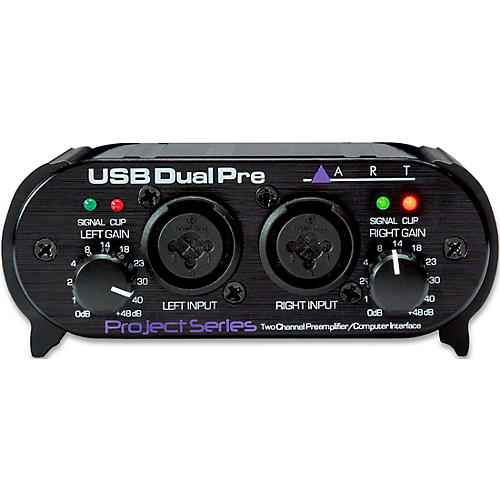 ART USB Dual Pre Two-Channel Preamp