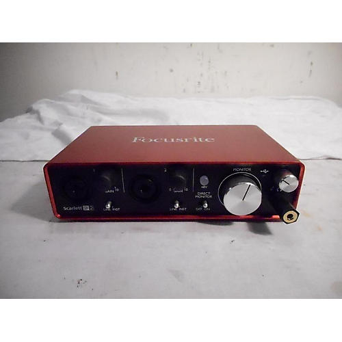 In Store Used USED FOCUSRITE SCARLETT 2I2 USB AUDIO INTERFACE