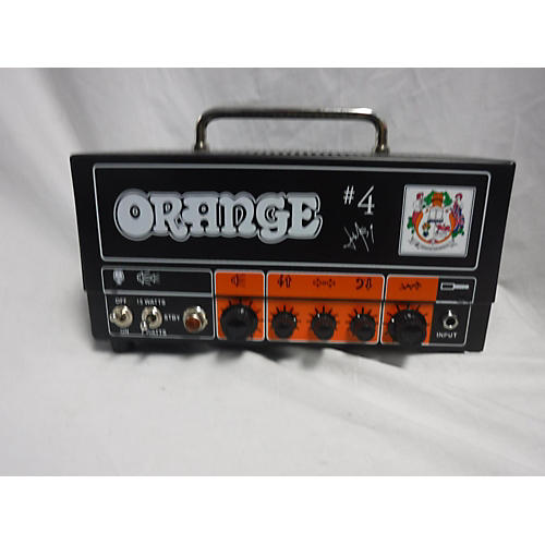 In Store Used USED ORANGE AMPLIFIERS TT15JR JIM ROOT NUMBER 4 SIGNATURE 15W TUBE GUITAR AMP HEAD