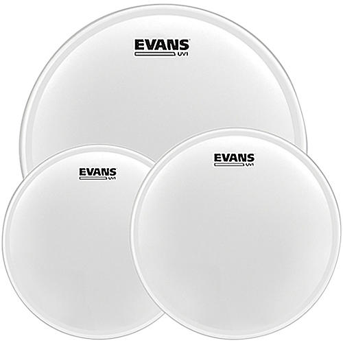 Evans UV1 Tom Pack with Free 14 in. UV1 Snare Head