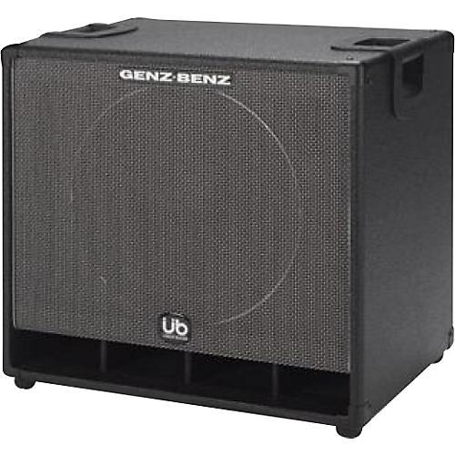 genz benz uber bass gb115t ub 1x15 bass speaker cabinet guitar center. Black Bedroom Furniture Sets. Home Design Ideas