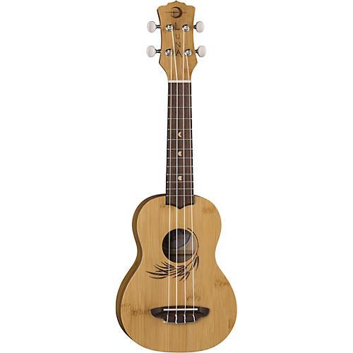 Luna Guitars Uke Bamboo Soprano w/Gigbag