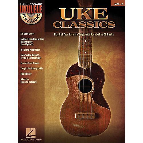 Hal Leonard Uke Classics - Ukulele Play-Along Series Volume 2 Book/CD