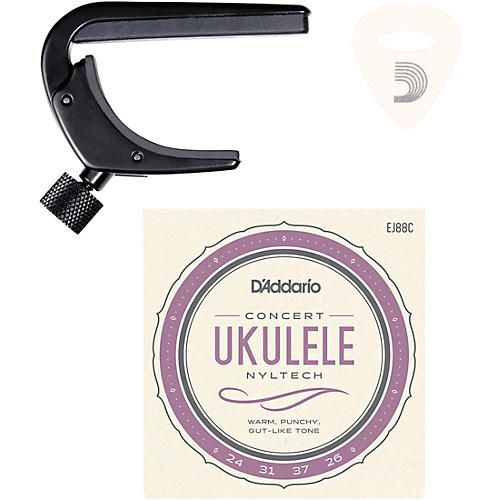 D'Addario Ukulele Essentials Kit