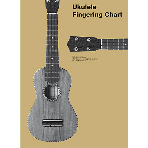 Chester Music Ukulele Fingering Chart Music Sales America Series Softcover