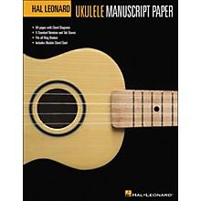 Hal Leonard Ukulele Manuscript Paper (8.5 X 11) Book