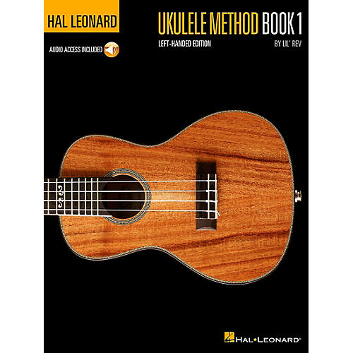 Hal Leonard Ukulele Method Book 1  Left-Handed Edition Book/Online Audio