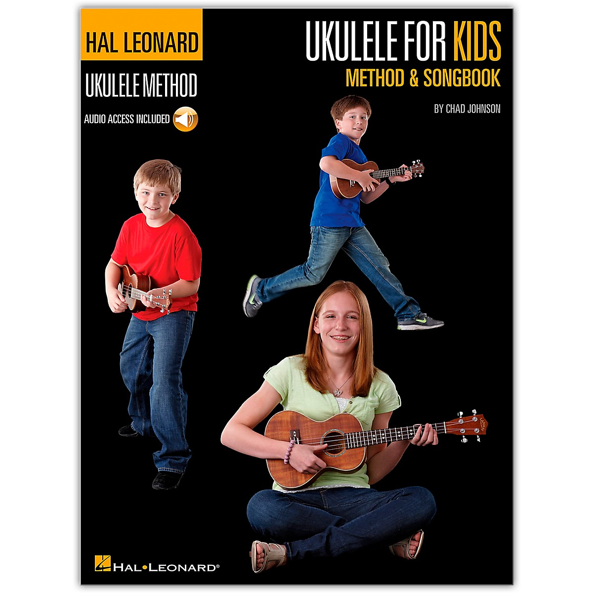 Hal Leonard Ukulele for Kids Method & Songbook Book/Audio Online