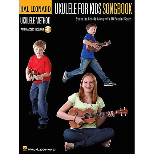 Hal Leonard Ukulele for Kids Songbook - Hal Leonard Ukulele Method Series (Book/Audio Online)