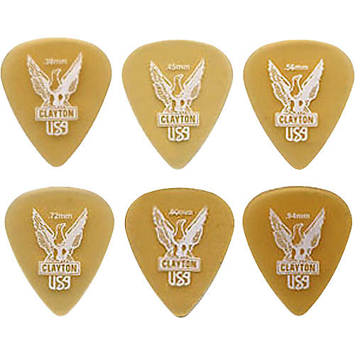 Clayton Ultem Standard Guitar Picks