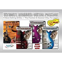 MJS Music Publications Ultimate Beginner Guitar 4 DVD Package