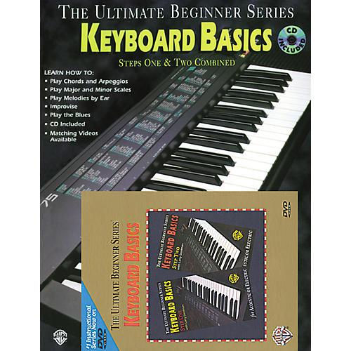 Alfred Ultimate Beginner Mega Pak: Keyboard Basics Book/CD/DVD