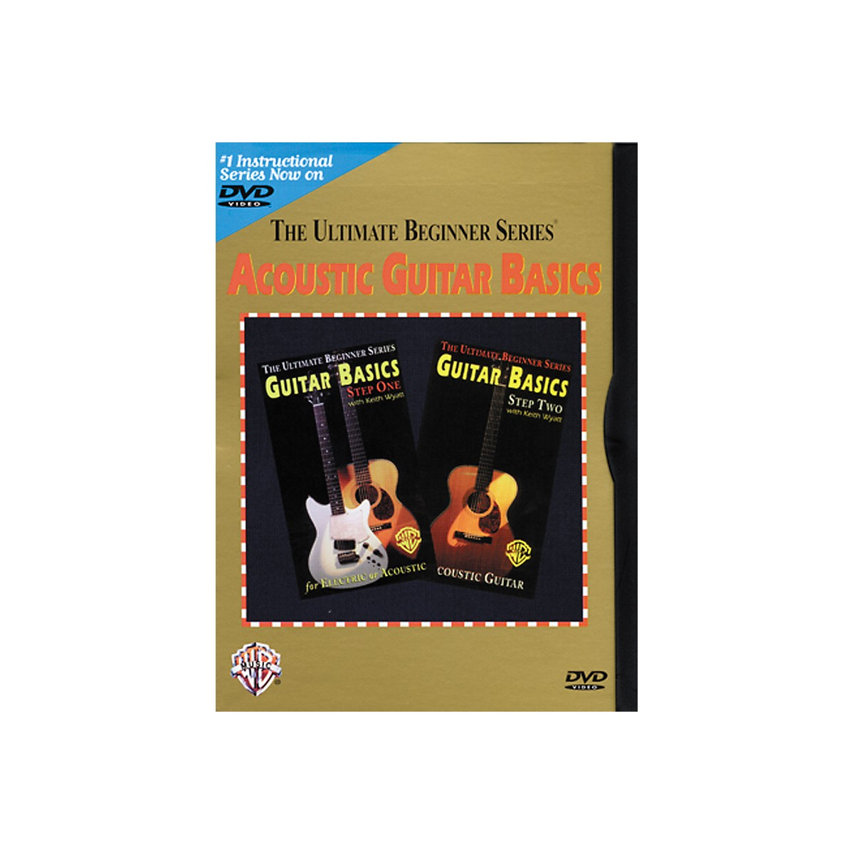 Warner Bros Ultimate Beginner Series - Acoustic Guitar Basics (DVD)