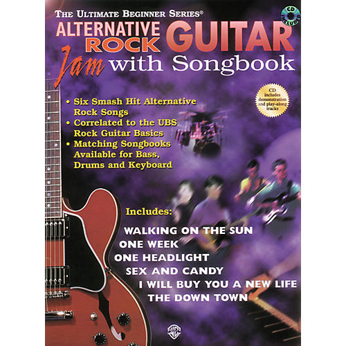 Alfred Ultimate Beginner Series - Alternative Rock Guitar