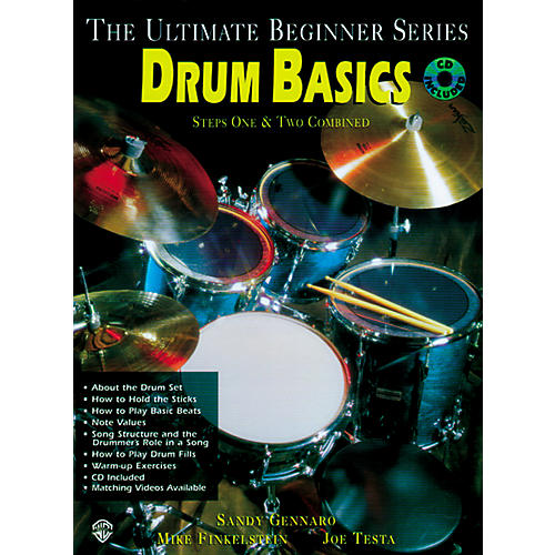 Alfred Ultimate Beginner Series - Drum Basics (Book/CD)
