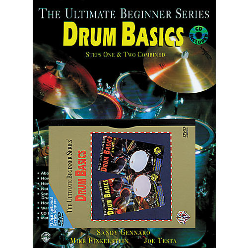 Warner Bros Ultimate Beginner Series - Drum Basics Step One MegaPack (DVD/Book/CD)