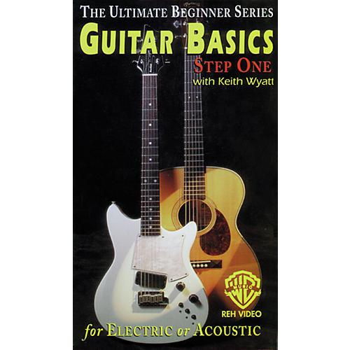 Alfred Ultimate Beginner Series - Guitar Basics, Step 1