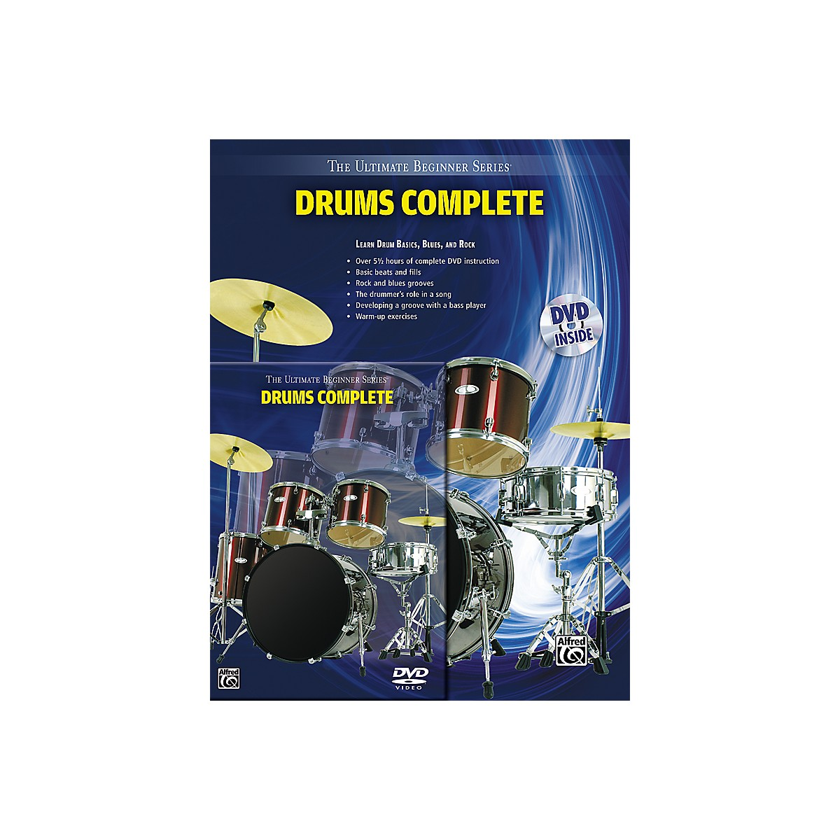 Alfred Ultimate Beginner Series Drums Complete Book & DVD
