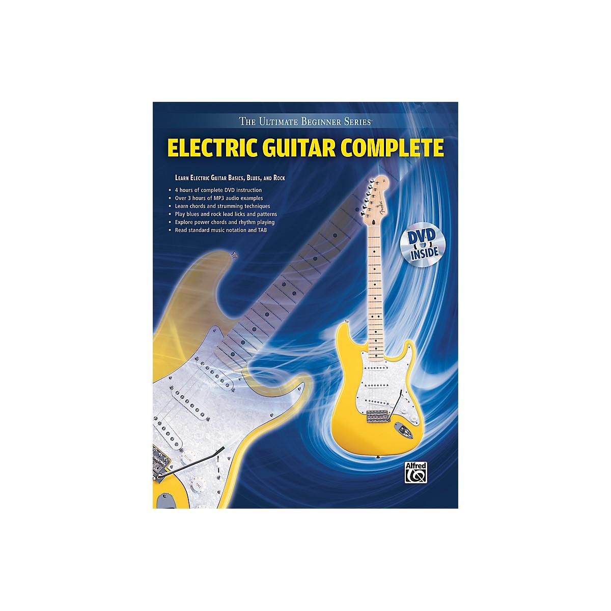 Alfred Ultimate Beginner Series: Electric Guitar Complete (Book/DVD)