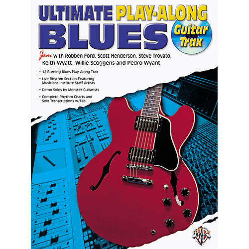 Alfred Ultimate Guitar Blues Play-Along (CD)