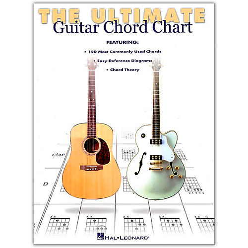 Hal Leonard Ultimate Guitar Chord Chart Book | Guitar Center