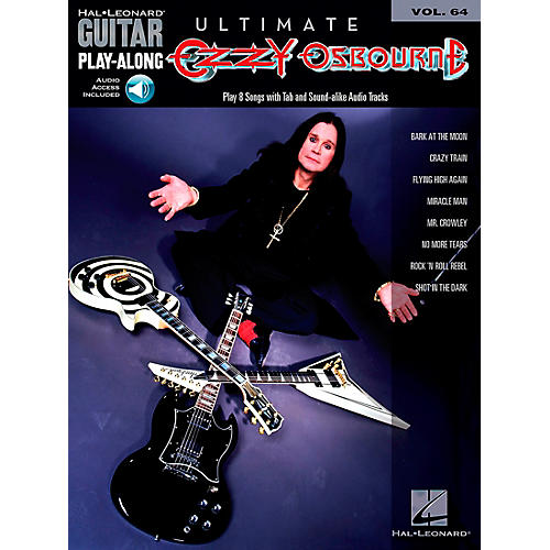 Hal Leonard Ultimate Ozzy Osbourne - Guitar Play-Along Series, Volume 64 (Book/Online Audio)