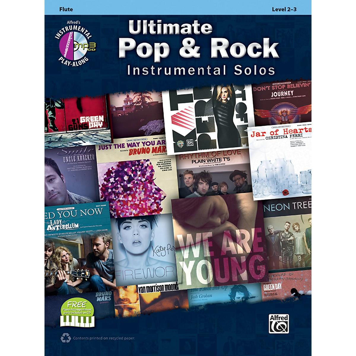 Alfred Ultimate Pop & Rock Instrumental Solos Flute (Book/CD)