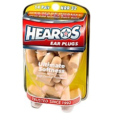 Hearos Ultimate Softness Series Ear Plugs 14 Pair + Free Case