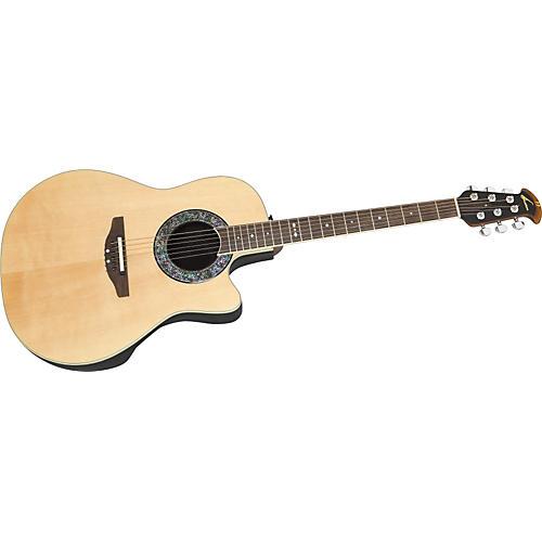 ovation ultra 2071 cutaway acoustic electric guitar natural guitar center. Black Bedroom Furniture Sets. Home Design Ideas