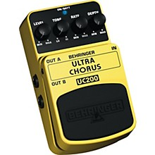 Behringer Ultra Chorus UC200 Stereo Chorus Effects Pedal