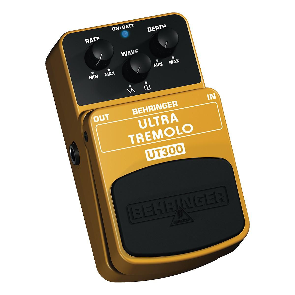 Behringer Ultra Tremolo UT300 Classic Tremolo Effects Pedal