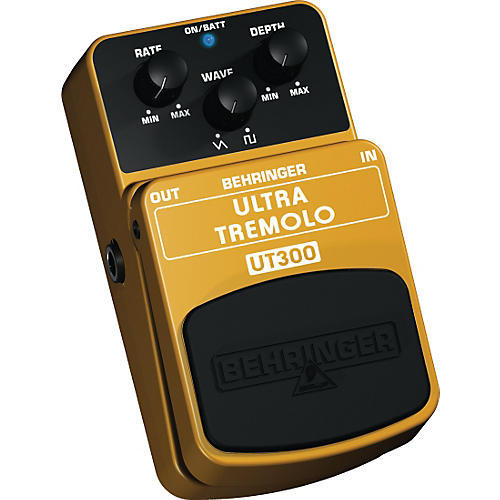 behringer ultra tremolo ut300 classic tremolo effects pedal guitar center. Black Bedroom Furniture Sets. Home Design Ideas