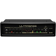 Behringer Ultrabass 300 Watt 2-Channel 7-Band FBQ Equalizer Bass Amplifier Head