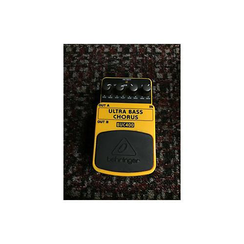 Behringer Ultrabass Chorus BUC400 Effect Pedal