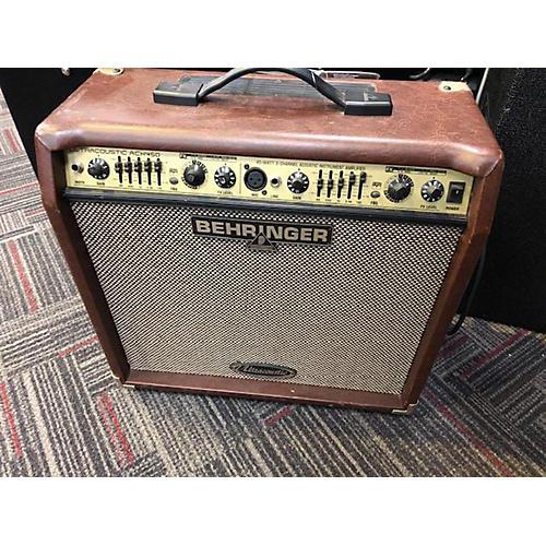 used behringer ultracoustic acx450 acoustic guitar combo amp guitar center. Black Bedroom Furniture Sets. Home Design Ideas