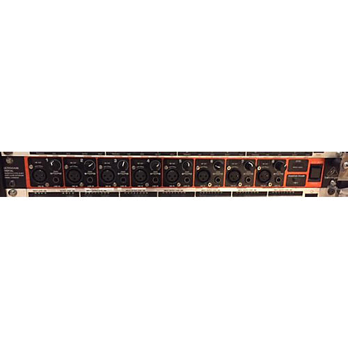 used behringer ultragain digital ada8200 audio interface guitar center. Black Bedroom Furniture Sets. Home Design Ideas