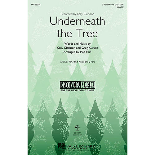 Hal Leonard Underneath the Tree (Discovery Level 2) VoiceTrax CD Arranged by Mac Huff