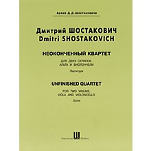 DSCH Unfinished Quartet (Score) DSCH Series Composed by Dmitri Shostakovich