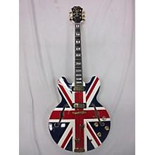 Epiphone Union Jack Sheraton Hollow Body Electric Guitar