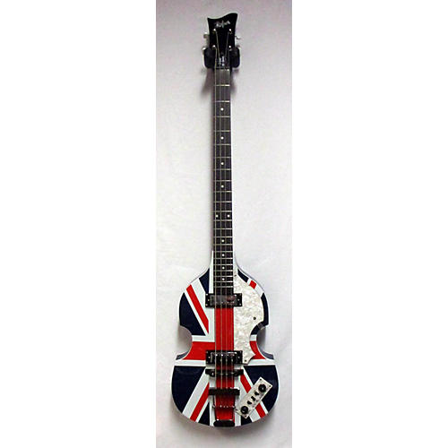 Hofner Union Jack Violin Bass Electric Bass Guitar