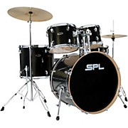 Unity Birch Series 5-Piece Complete Drum Set Black Mist